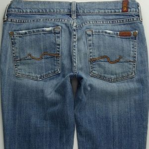 7 For All Mankind Boot Cut 28 Women's Jeans C021P